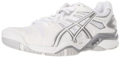 Buy ASICS Ladies GEL-Resolution 5 Tennis Shoe by ASICS