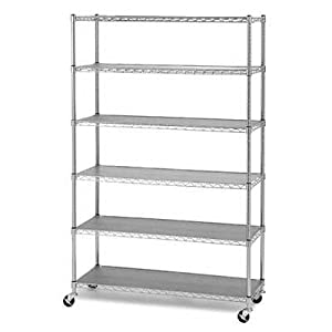 Amazon.com: Commercial Chrome Steel Wire Shelves NSF Shelving 48
