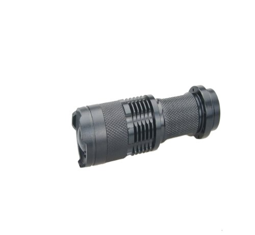 Nuoya001 New Hunting Sporting 7W Cree Q5 Led 800 Lumen Flashlight Torch Zoom Lamp Light
