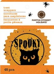 Bulk Buy: Martha Stewart Cupcake Wrappers 48/Pkg Classic Halloween (6-Pack)