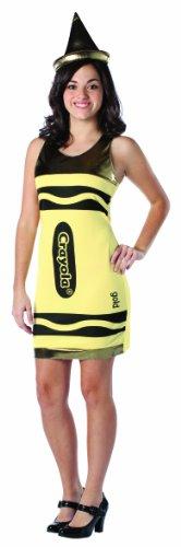 Rasta Imposta Crayola Tank Dress, Gold, Teen 13-16 - 1
