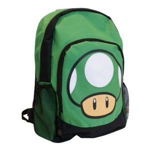 Nintendo 1 Up Mushroom Pilz Großer Rucksack