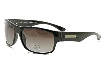 Armani Exchange 215/S 215S D28JJ Black Rectangle Sunglasses 62MM