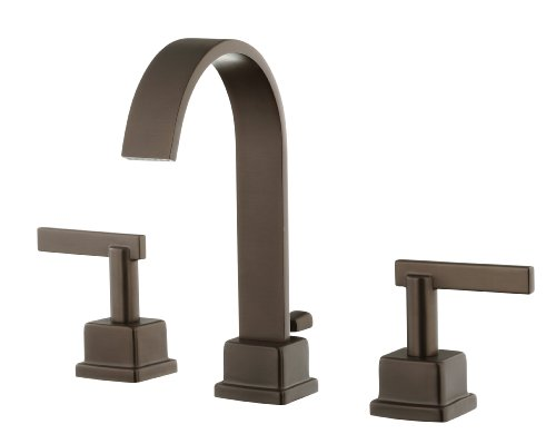 Schon SCL400ORB 2-Handle Widespread Lavatory Faucet, Oil Rubbed Bronze