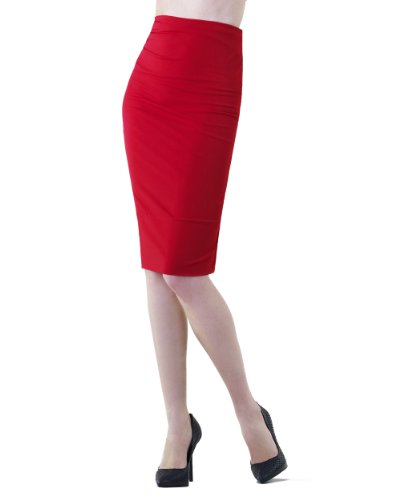 Pencil Skirt with Side Shirring by Shape FX size 6 only