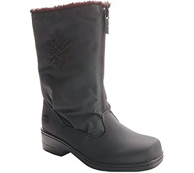 totes Women's Staride Winter Boots,Black,7 M US