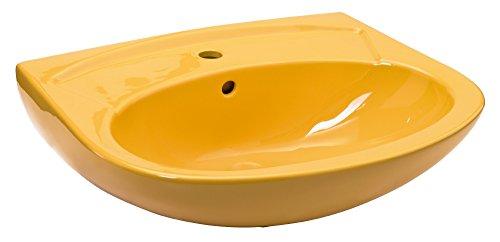 Waschtisch | 60 cm | Curry | Waschbecken