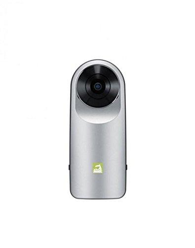 LG-360-CAM-Videocamera-Sferica-Compatta-con-Doppia-Fotocamera-da-13-MP-Memoria-Interna-4-GB-Colore-Argento