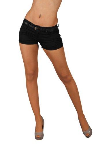 5824 Fashion4Young Damen Sexy Hotpants Short kurze Hose Jeans verfügbar in 5 Größen 6 Farben