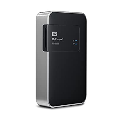 WD My Passport Wireless 1 TB Wi-Fi Mobile Storage (WDBK8Z0010BBK-EESN)