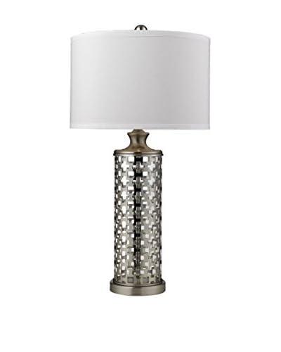 Artistic Lighting Medford Table Lamp, Brushed Nickel