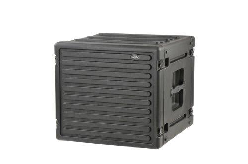 SKB Cases 8U Space Roto Molded Rack, Black, 23 in. X 23 in.