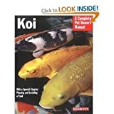 img - for Koi (Barron's Complete Pet Owner's Manuals) 2nd (second) edition Text Only book / textbook / text book