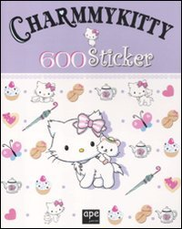 Cover Charmmy Kitty. 600 sticker. Con adesivi