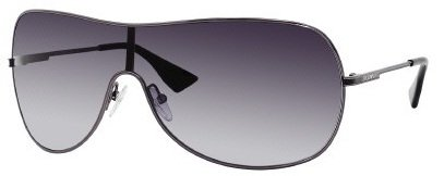 Emporio Armani 9757/S Sunglasses Dark Ruthenium / Gray Shaded