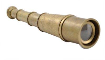 "Antique Marine Brass Spyglass Telescope 14"" Quality Reproduction"
