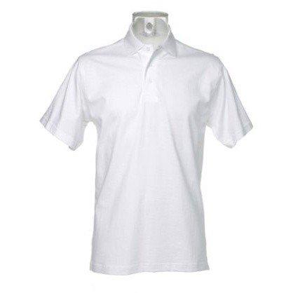 Kustom Kit Jersey Knit Mens Short Sleeve Polo Shirt (XL) (White)