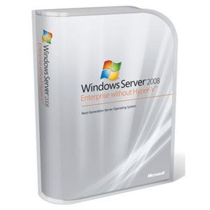 Microsoft Windows Server for Windows Essential Server w/o Hyper-V 2008 English 1 License DVD 5 ClientMicrosoft® Windows Server for Windows Essential Server w/o Hyper-V 2008 English 1 License DVD 5 Client