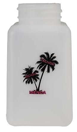 Menda 35751 HDPE 6oz Palm Imprint Bottle