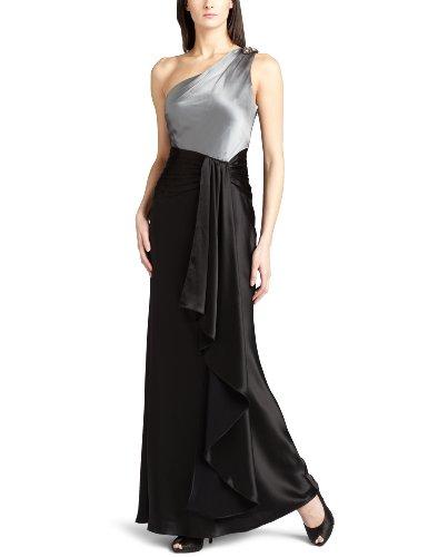 ABS Allen Schwartz Women's Asymmetrical Draped Sash Gown