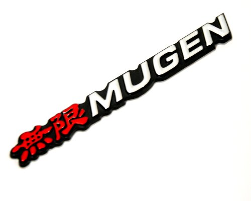 Honda Mugen 3d Logo Sign Emblem Decal Civic Accord Integra City Fit Jazz (Integra Honda Emblem compare prices)