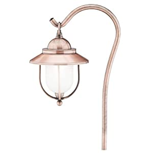 Click to read our review of Antique Outdoor Lights: Malibu 18 Watt Mariner Lantern, Antique Copper