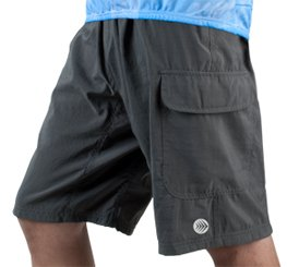 Men's ATD Cargo Short Baggy Padded Mountain Bike Cycling Shorts Charcoal MEDIUM (Baggy Padded Cycling Shorts compare prices)