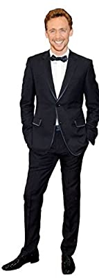 Tom Hiddleston Cardboard Cutout (life size and mini size). Standee. Stand Up