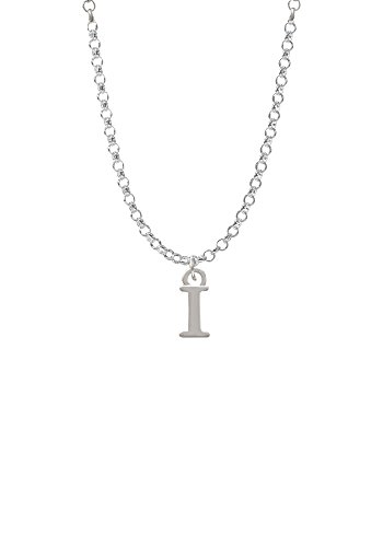 Small Initial - I - Necklace