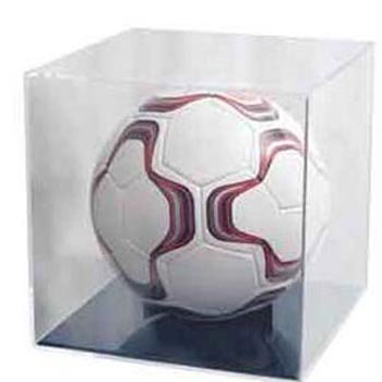 Ball Qube Grandstand Basketball / Soccer Ball Holder (Gold Ball Display compare prices)