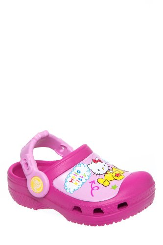 Kid's Creativecrocs Hello Kitty Plane Clog