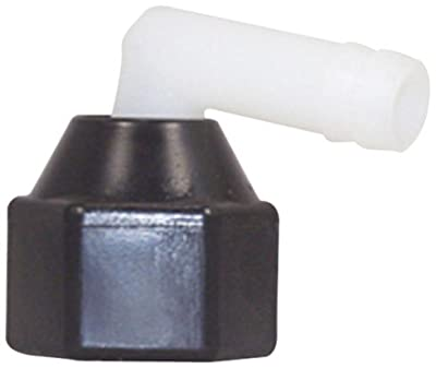 "SHURflo 244-3916 1/2"" FPT X 3/8"" Barb Elbow Swivel"