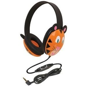 Kids Stereo and PC Headphones, Tiger Design