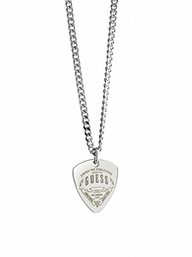 Guess Herren-Kette Coast to coast Edelstahl silber, One Size thumbnail