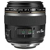 Image of Canon EF-S 60mm f/2.8 Macro USM Digital SLR Lens for EOS Digital SLR Cameras