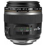 Canon EF-S 60mm f/2.8 Macro USM Digital SLR Lens for EOS Digital SLR Camera ....