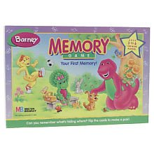 Barney Memory Game front-302562