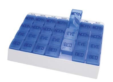 Apex Medi Tray, 4 Times Per Day, 7 Days Per Week