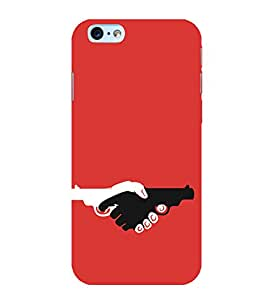 Pistols in Hands 3D Hard Polycarbonate Designer Back Case Cover for Apple iPhone 6s Plus :: Apple iPhone 6s+