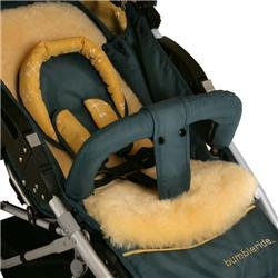 BumbleRide Plush Seat Liner Color: Natural - 1