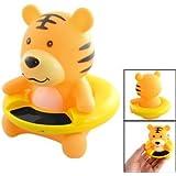 SODIAL(R) Thermometre de l'eau du bain de bebe en forme de tigre Orange