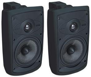 Niles Os5.5 Black (Pr) 5 Inch 2-Way High Performance Indoor Outdoor Speakers.