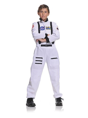 White Astronaut Costume for kids