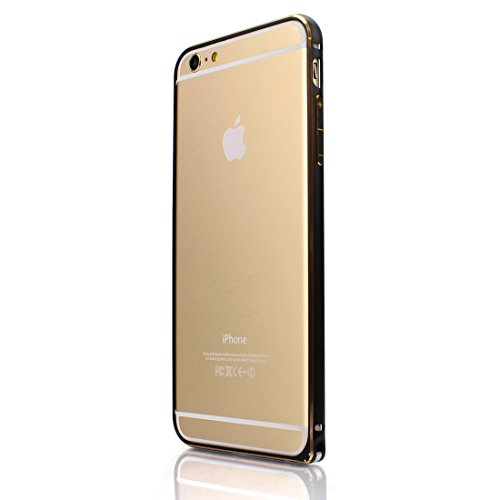 【日本正規代理店品】 Fantastick Aluminum Air Bumper ブラック for iPhone 6 Plus I6P05-14D429-01