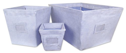 Trend Lab 109040 BLUE - BIN -3 PIECE SET