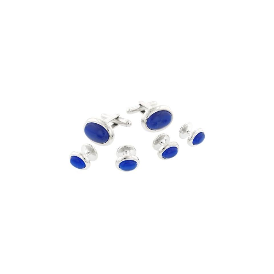 JJ Weston Multi Tone Art Glass Cufflinks Made in The USA