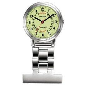 Lorus Professional Lumibrite Nurses Fob Watch RG253CX9