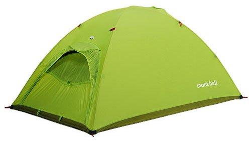 モンベル(mont-bell) テント ULドームシェルター2型 スプリンググリーン [1~2人用] 1122392