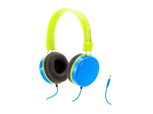 Blue Crayola Myphones Kids Volume-Limiting Headphones