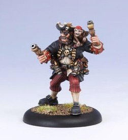 Privateer Press - Warmachine - Mercenary: Mr. Walls Model Kit